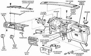 2007 Chrysler Town Country Dash Removal Diagram Column