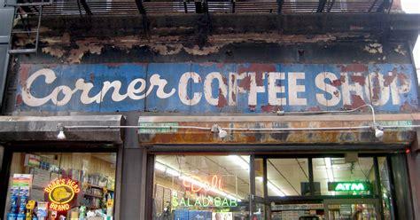 Manhattan Bar Stool by Old Store Signs Ephemeral New York