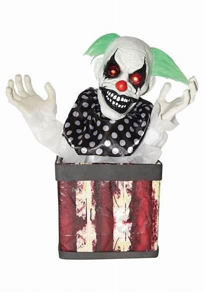 Animated Clown Box Coming Halloweencostumes