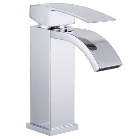 waterfall bathroom faucet chrome kes l3109a1lf single handle waterfall bathroom vanity