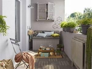 Amenager Petit Balcon Appartement : bien am nager son balcon leroy merlin ~ Zukunftsfamilie.com Idées de Décoration