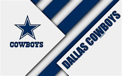 wallpapers dallas cowboys  logo material design nfl white blue abstraction american football arlington texas usa national