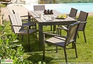 Table Bois Jardin : table bois jardin homeandgarden ~ Edinachiropracticcenter.com Idées de Décoration