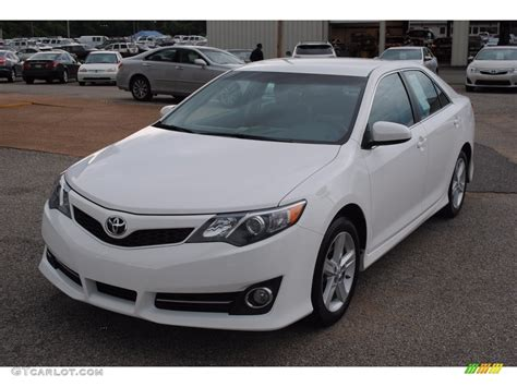 2014 Toyota Camry Colors by 2014 White Toyota Camry Se 113452538 Gtcarlot