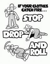 Coloring Fire Prevention Week Colouring Popular sketch template