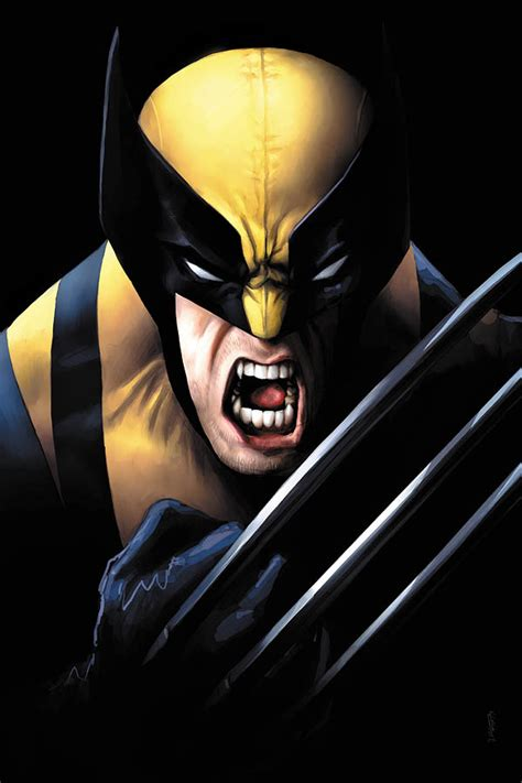 Comics Forever, Wolverine Snikt!  Pencils By Andy Tong