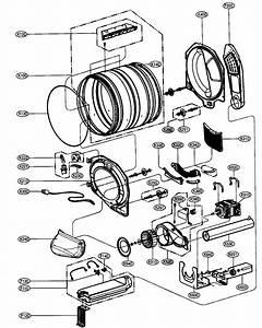 Poly V Belt For Lg Dle9577wm Dryer