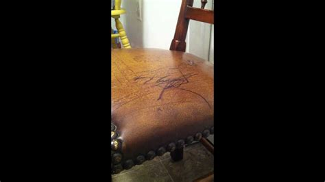 remove permanent marker  leather surfaces youtube