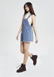 Cool Kids Denim Jumper Dress