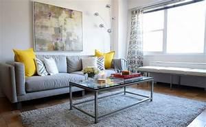 Les tendances de couleurs dans la decoration du domicile for Tapis de marche avec canapes photos