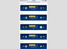 Leaked Chelsea & Liverpool's International Champions Cup