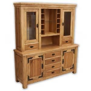 Rustic Buffet Hutch Cabinet
