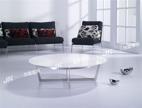 white marble living room table round coffee table stylish simplicity of modern living