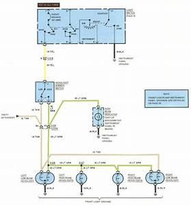 1977 Seville Injector Wiring Diagram