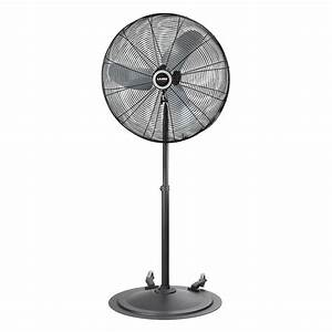 30 U2033 Industrial Oscillating Fan W   Wheels
