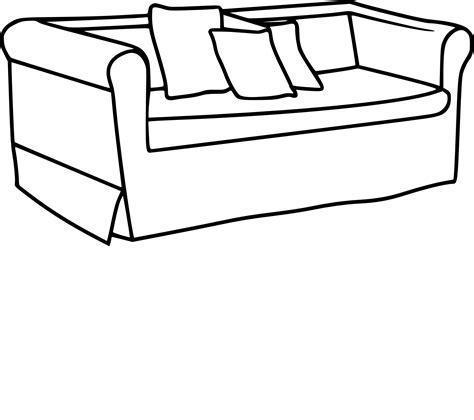 cuisine de a a z coloriage canapé et dessin à imprimer