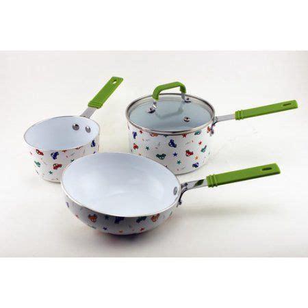 berghoff childrens  cookware set boys green cookware set cookware small stove