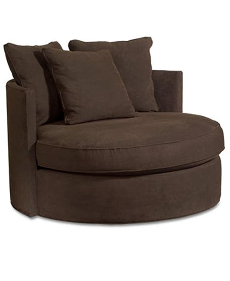 doss godiva fabric microfiber swivel living room