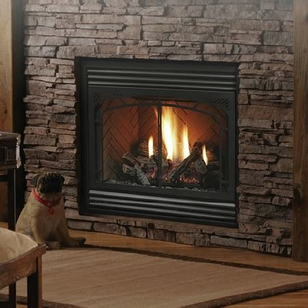 direct vent fireplace kingsman zero clearance direct vent gas fireplace