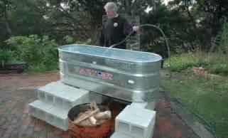 Horse Trough Bathtub Diy by Diy Solar Heating For Your Tub