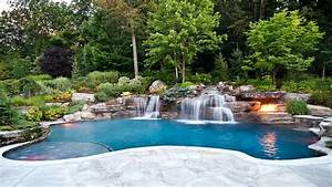 Wasserfall Für Pool : garten mit pool die beste l sung f r die hei en sommertage ~ Michelbontemps.com Haus und Dekorationen