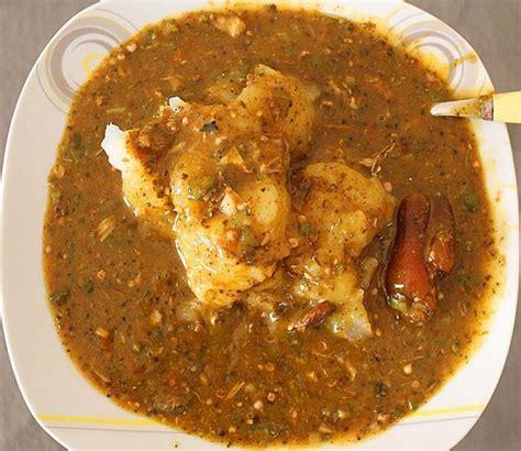 sauce gombo placali et kplo ivorian food cuisine