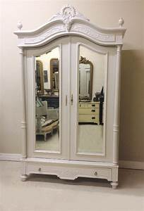 IF4196 ANTIQUE FRENCH HENRI II STYLE DOUBLE ARMOIRE