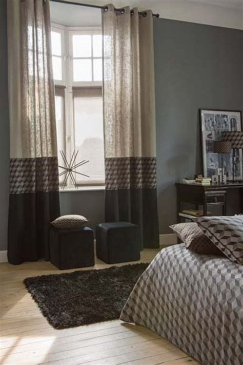 rideau pour fenetre chambre decoration rideaux chambre a coucher