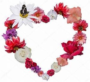 Blumen Der Liebe : wundersch ne herzen aus verschiedenen blumen als symbol der liebe stockfoto ekaterina0290 ~ Orissabook.com Haus und Dekorationen