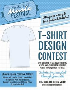 New t shirt contest marketing flier templates inksoft for T shirt design contest template