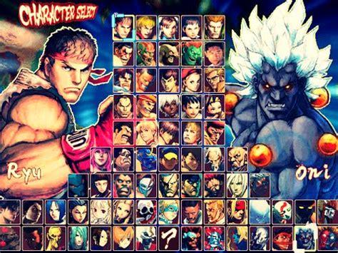 hyper street fighter iv mugen  res game completo