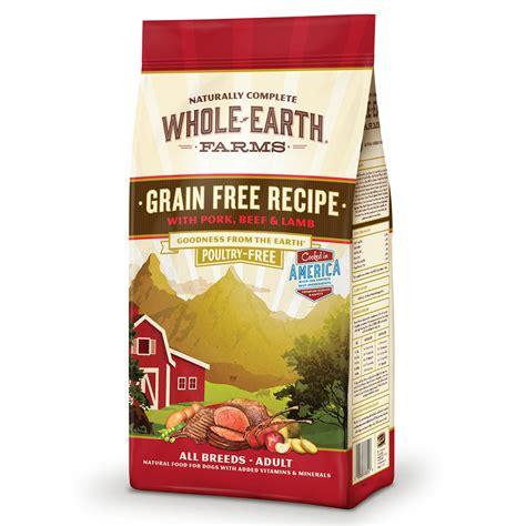 earth farms grain  recipe  pork beef lamb