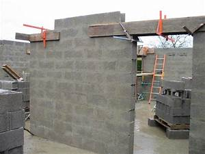 Poser Bloc Porte Entre 2 Murs : comment construire un mur en parpaing ~ Dailycaller-alerts.com Idées de Décoration