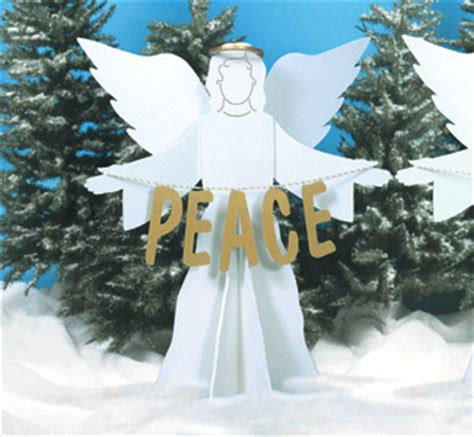 winfield collection peace  earth angels pattern