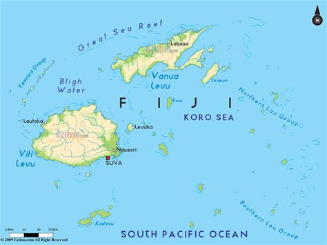 map   fiji islands destination wedding planning