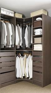 Barre De Penderie Ikea : dressing d 39 angle dressings pinterest placards chambre placard et chambres ~ Preciouscoupons.com Idées de Décoration
