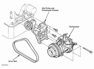 1990 Toyota Camry Serpentine Belt Routing And Timing Belt Diagrams