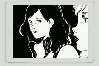 Graphic Side Novel Scrolling Comic Mythological Tells