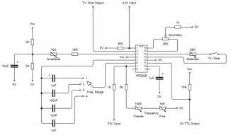 xr function generator circuit diagram periodic