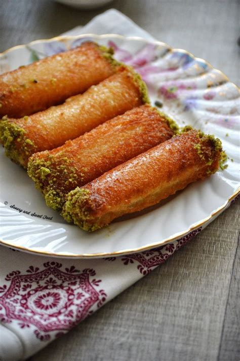 So, i made a slight change and pasteurized the yolks. Znoud-el-Sit/ Ladies Fingers | Lebanese desserts, Yummy food dessert, Lady fingers dessert