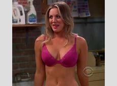 Pop Minute Kaley Cuoco Bra Big Bang Theory Laundry