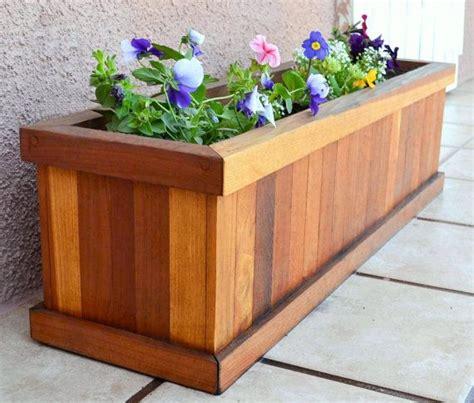 planter boxes ideas  pinterest building planter boxes garden planter boxes  diy