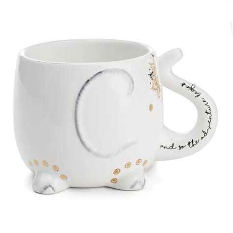 Coffee mug, customized mug, gift idea, mug, mug gift, personalised mug. Tri-Coastal Design Soho Elephant Coffee Mug | Cute Mugs 2018 | POPSUGAR Home Photo 5