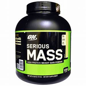 Serious Mass  Optimum Nutrition  Weight Gainer Food Supplement For Sale In Pakistan  U2013 Supplements Pk