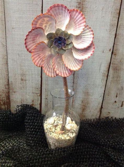how to make seashell flowers seashell flower http hative com cool seashell project ideas craft corner pinterest