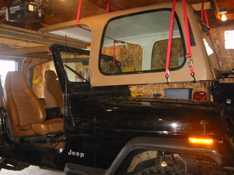 jeep hardtop interior jeep hardtop hoist car interior design