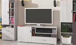 Meuble Tv Pour Chambre : meuble tv chambre ado meuble tl design pas cher chambre ado ~ Teatrodelosmanantiales.com Idées de Décoration