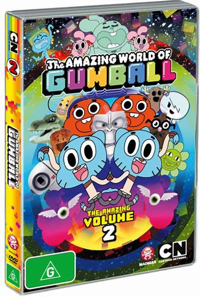 Gumball Amazing Dvd Volume Episodes Cool Ongoing