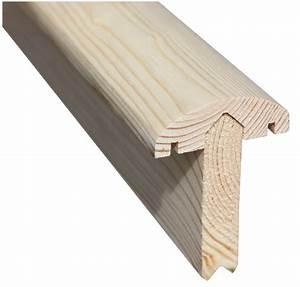 Holzpfosten Mit Nut : abschlussleiste aus holz f r sichtschutz zier oder lamellenzaun ~ Yasmunasinghe.com Haus und Dekorationen