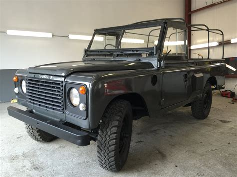 land rover series pre defender military pickup truck